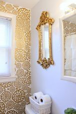 Creative diy bathroom makeover ideas 24
