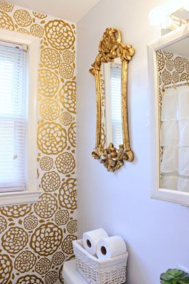 Creative diy bathroom makeover ideas 24