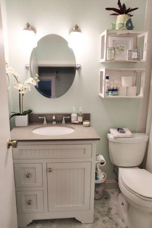 Creative diy bathroom makeover ideas 45