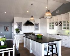 Cute kitchen remodels with white cabinets 13