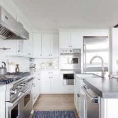 Cute kitchen remodels with white cabinets 14