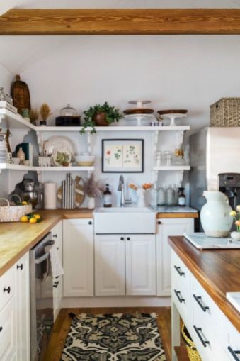 Cute kitchen remodels with white cabinets 18
