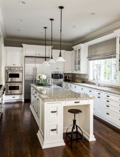 Cute kitchen remodels with white cabinets 21