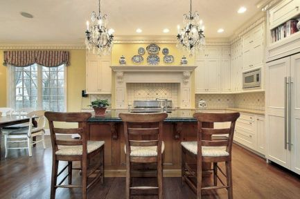 Cute kitchen remodels with white cabinets 28