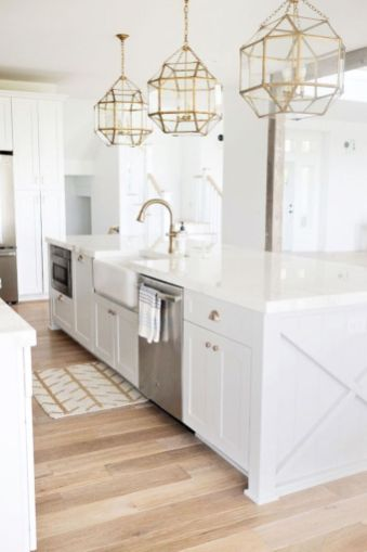 Cute kitchen remodels with white cabinets 31