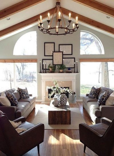 Dream home stay with comfortable living room ideas 33