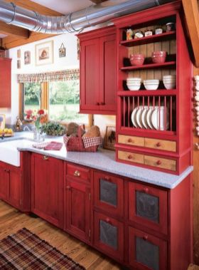 Excellent country decorating ideas for unique home 07