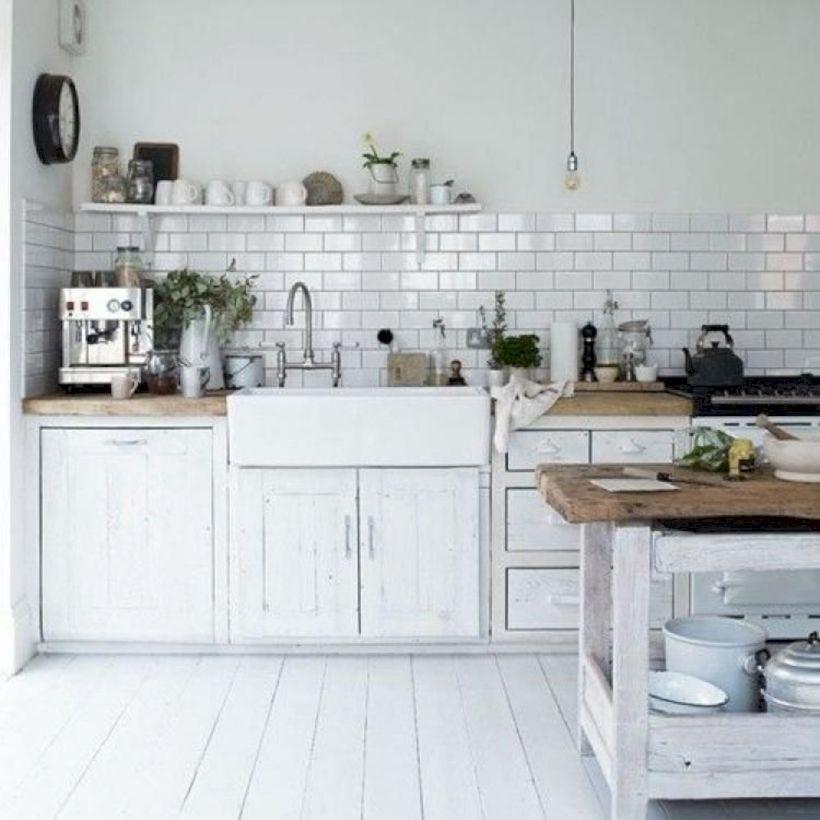 Fabulous all white kitchens ideas 27