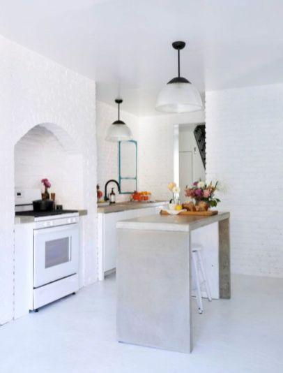 Fabulous all white kitchens ideas 36