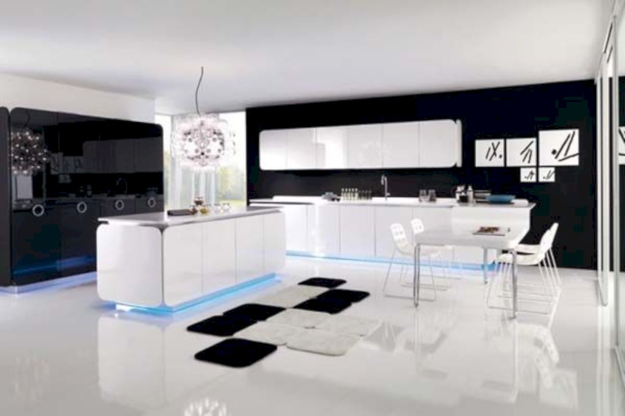 43 Fabulous All White Kitchens Ideas
