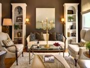 Gorgeous farmhouse living room decor design ideas 41