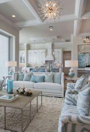 Gorgeous farmhouse living room decor design ideas 47