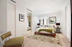 Gorgeous minimalist elegant white themed bedroom ideas 08