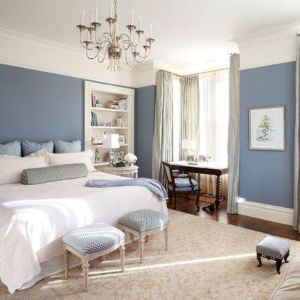 Gorgeous minimalist elegant white themed bedroom ideas 31