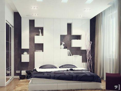 Gorgeous minimalist elegant white themed bedroom ideas 33