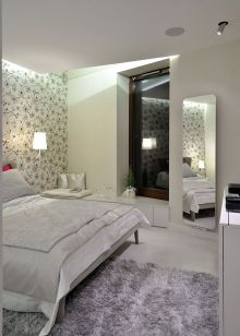 Gorgeous minimalist elegant white themed bedroom ideas 34