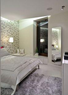 Gorgeous minimalist elegant white themed bedroom ideas 34