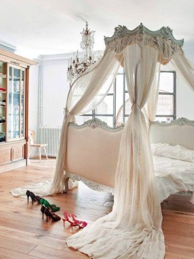 Gorgeous minimalist elegant white themed bedroom ideas 42