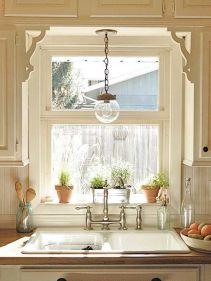 Impressive farmhouse country kitchen decor ideas 15