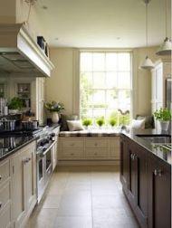 Impressive farmhouse country kitchen decor ideas 47