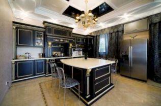Impressive kitchens with white appliances 05