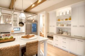 Impressive kitchens with white appliances 08