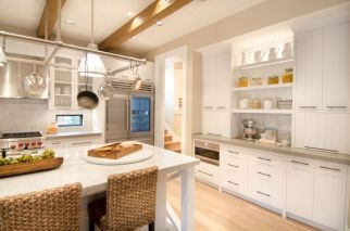 Impressive kitchens with white appliances 08