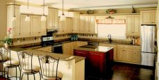 Impressive kitchens with white appliances 21