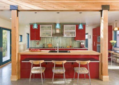 Impressive kitchens with white appliances 32
