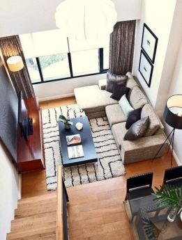 Inspiring small living room apartment ideas 11