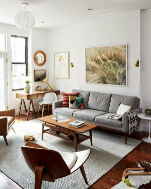 Inspiring small living room apartment ideas 23
