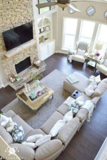 Inspiring small living room apartment ideas 31