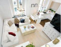 Inspiring small living room apartment ideas 36