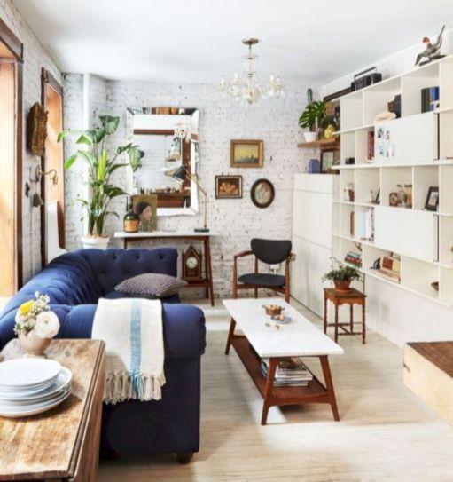 Inspiring small living room apartment ideas 49