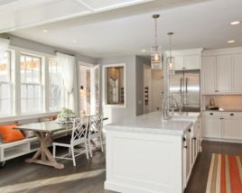 Most popular grey and white kitchen curtains ideas 08
