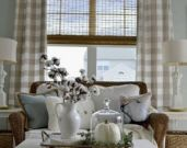 Most popular grey and white kitchen curtains ideas 12