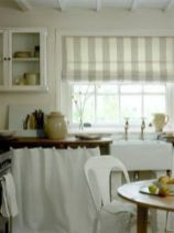 Most popular grey and white kitchen curtains ideas 24