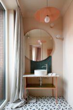 Most popular mid century modern bathroom lighting 04