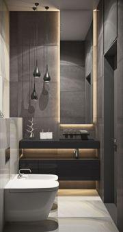 Most popular mid century modern bathroom lighting 07