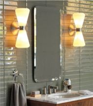 Most popular mid century modern bathroom lighting 22