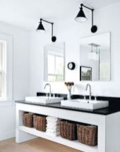 Most popular mid century modern bathroom lighting 24