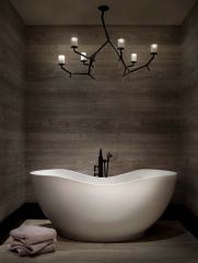 Most popular mid century modern bathroom lighting 30