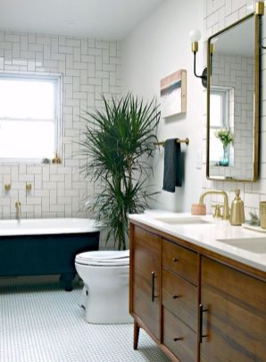 Most popular mid century modern bathroom lighting 39