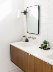 Most popular mid century modern bathroom lighting 42