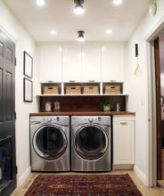 Outstanding black and white laundry room ideas 01