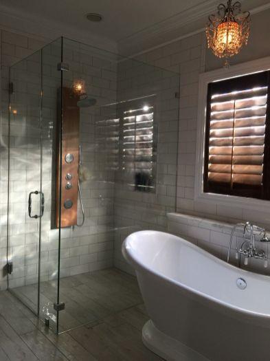 Popular master bathroom design ideas for amazing homes 32