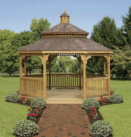 Relaxing gazebo design ideas you can copy 12