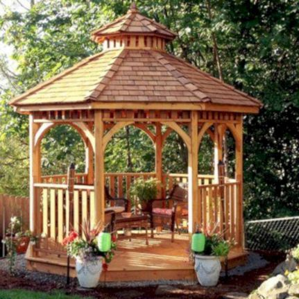 Relaxing gazebo design ideas you can copy 30