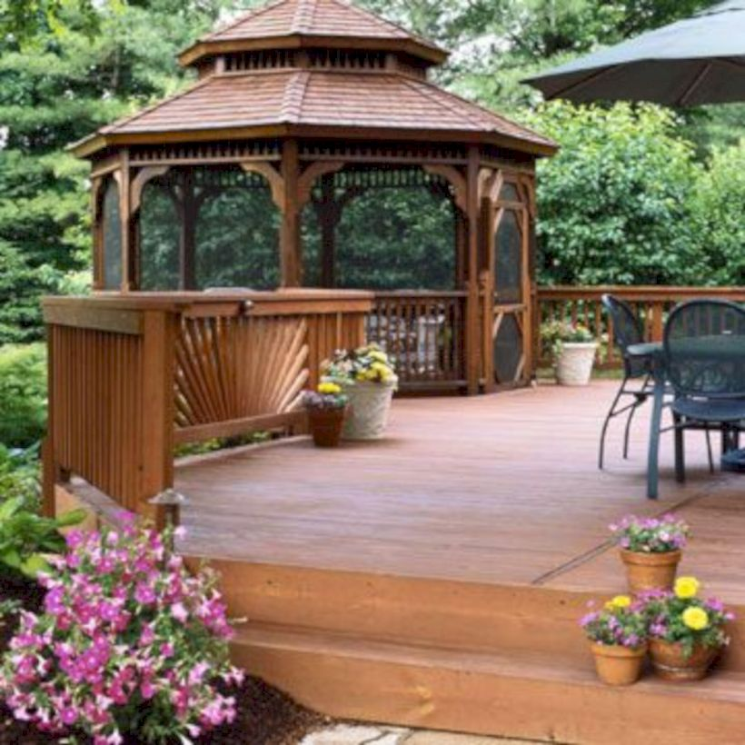 Relaxing gazebo design ideas you can copy 32