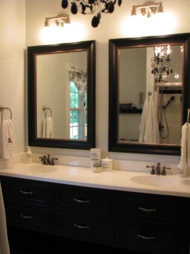 Stunning bathroom mirror decor ideas 12